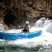 Elvepadling med kano