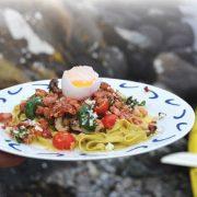 Mat til Padleturen – Pasta carbonara