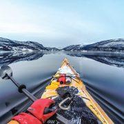 Vinterpadling i hvalens rike