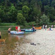 Padling på tyske Donau
