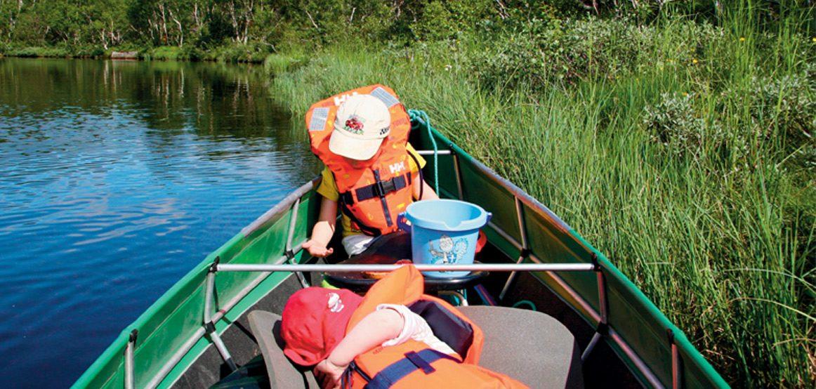 Lasting og trimming av kano