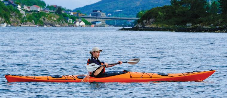 Unplugged er enkel å få til å gå dit du vil på tross av bølger og vind.